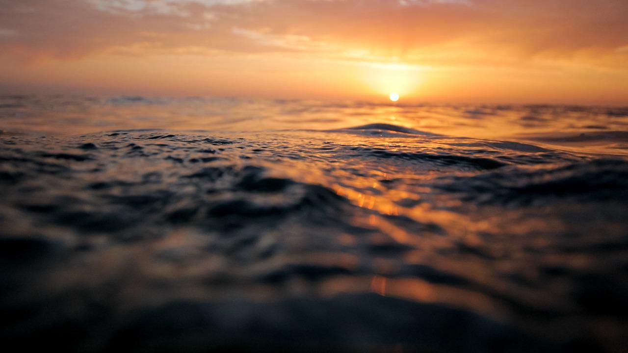 Sonnenuntergänge auf Fehmarn sind unbeschreiblich schön